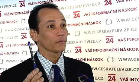Kubánský disident Juan Acosta