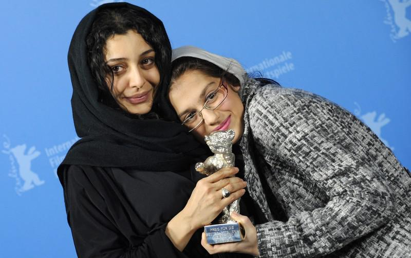 Sareh Bayatová a Sarina Farhádiová