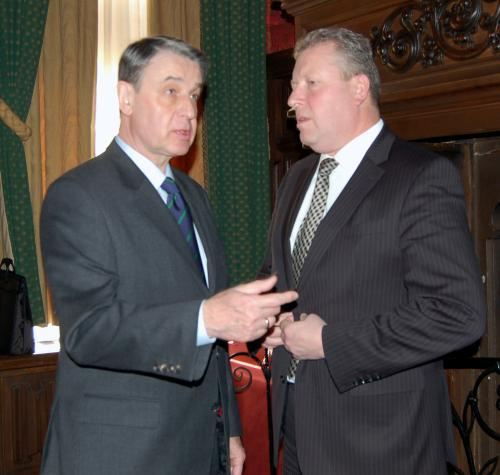 Jiří Besser a Alexandr Avdějev