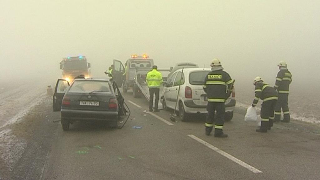 Hasiči u dopravní nehody