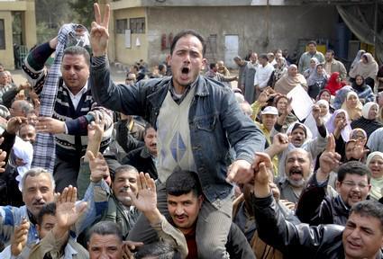 Arabské lidové protesty