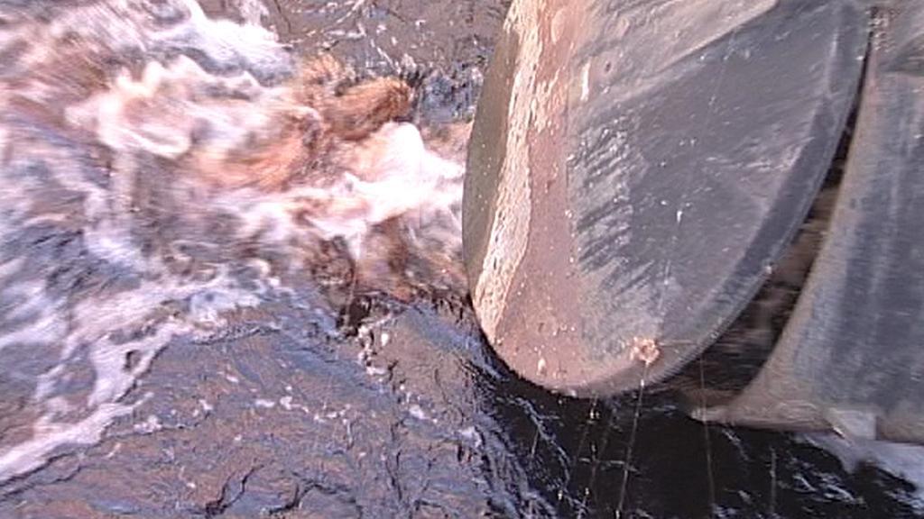 Znečištění potoka