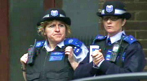 Britská policie