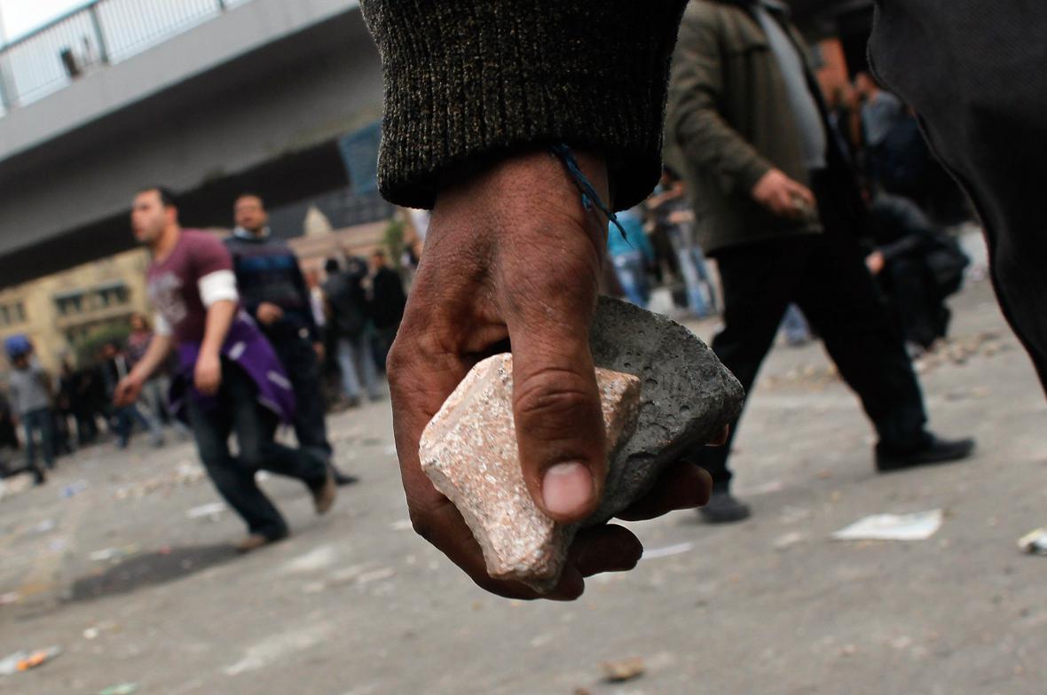 Vyhrocená situace v Káhiře
