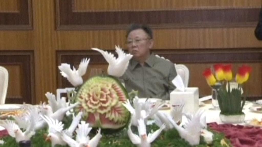 Kim Čong-il oslavil narozeniny