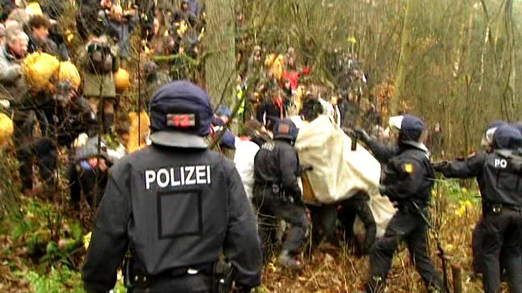 Němečtí demonstranti