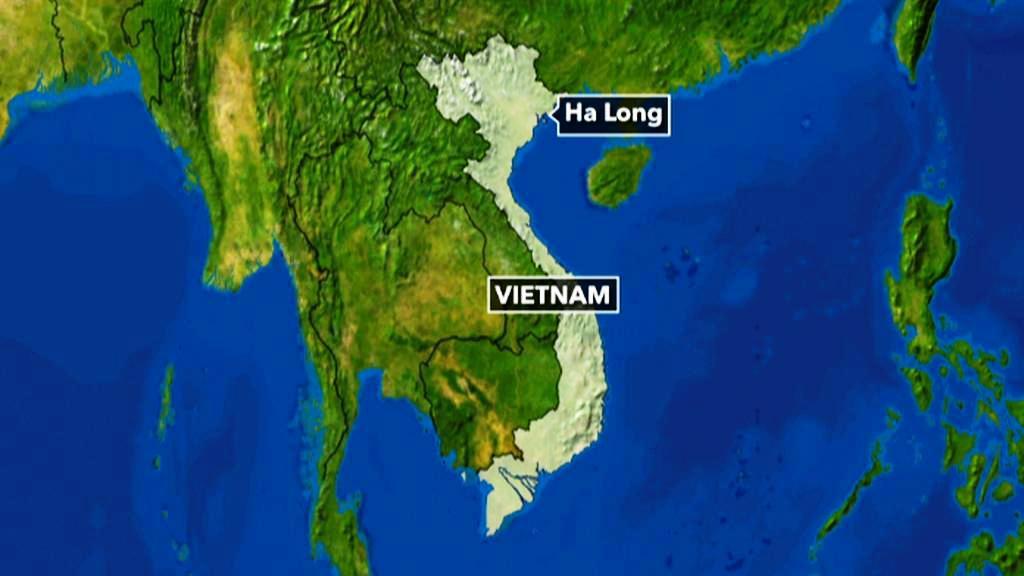Vietnamská zátoka Ha Long