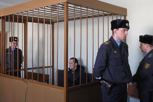 Vasil Parfjankov u soudu
