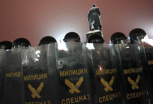 Prostesty proti Lukašenkovi