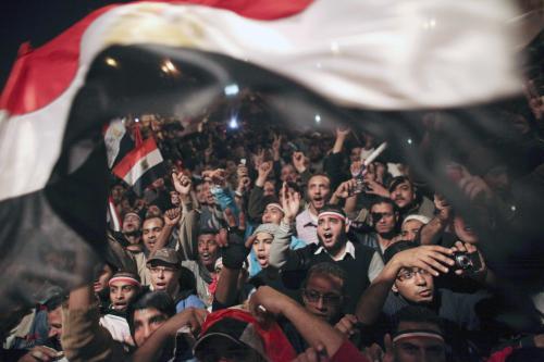 Egypťané slaví Mubarakův pád