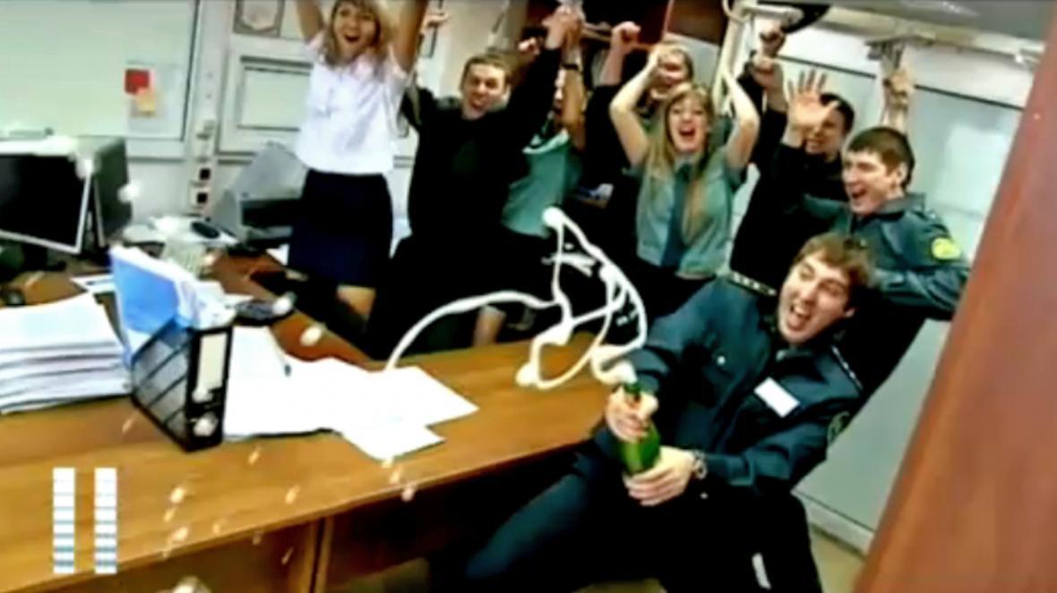 Silvestrovský klip vladivostockých celníků