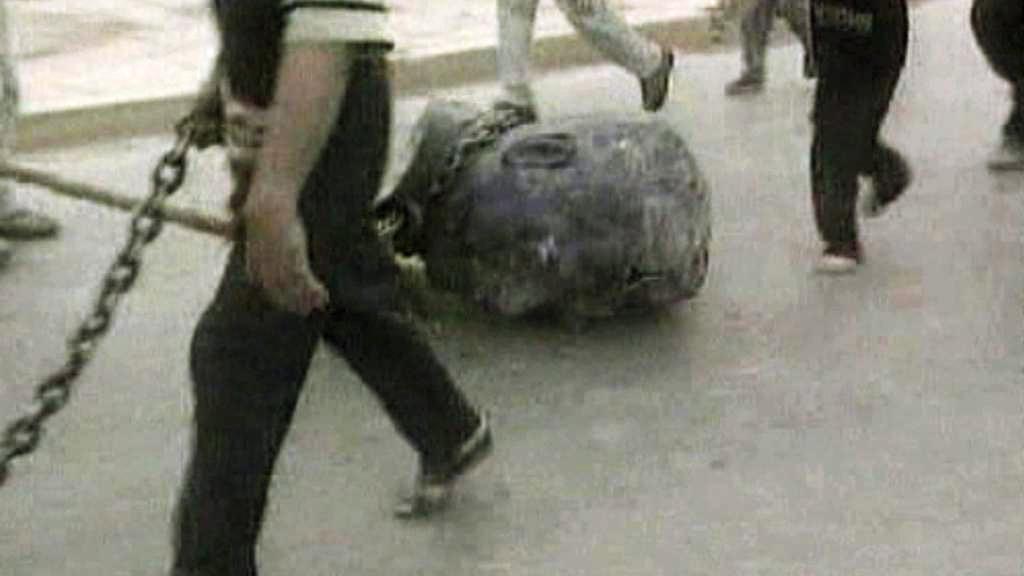 Pád Saddámova režimu