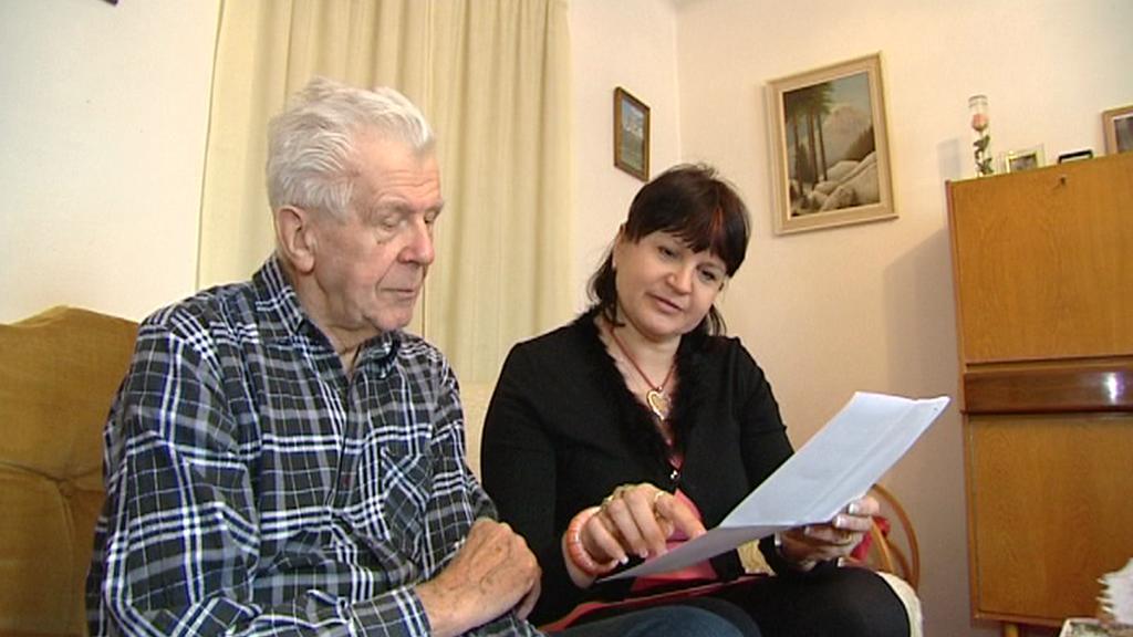 Stanislav Mašata s dcerou