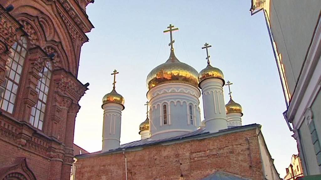 Pravoslavný kostel v Kazani