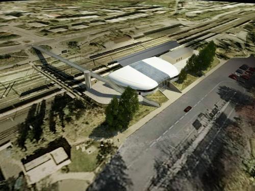 Návrh nového nádraží