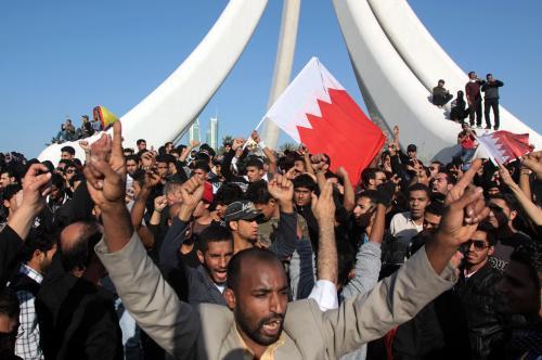 Protivládní demonstrace v Bahrajnu