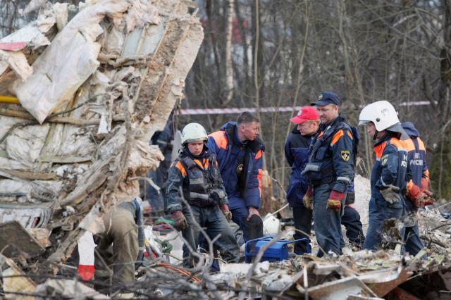 Vyšetřování havárie polského letadla u Smolenska