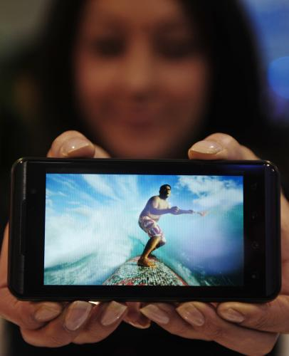 Nový mobil od LG Optimus 3D