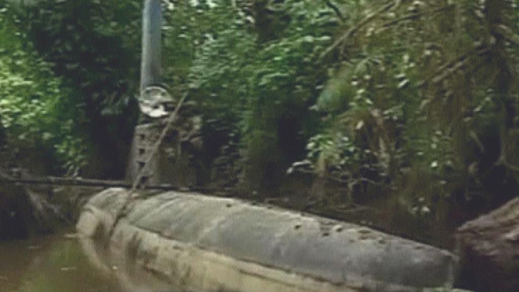 Kolumbijská policie zabavila narkomafii ponorku