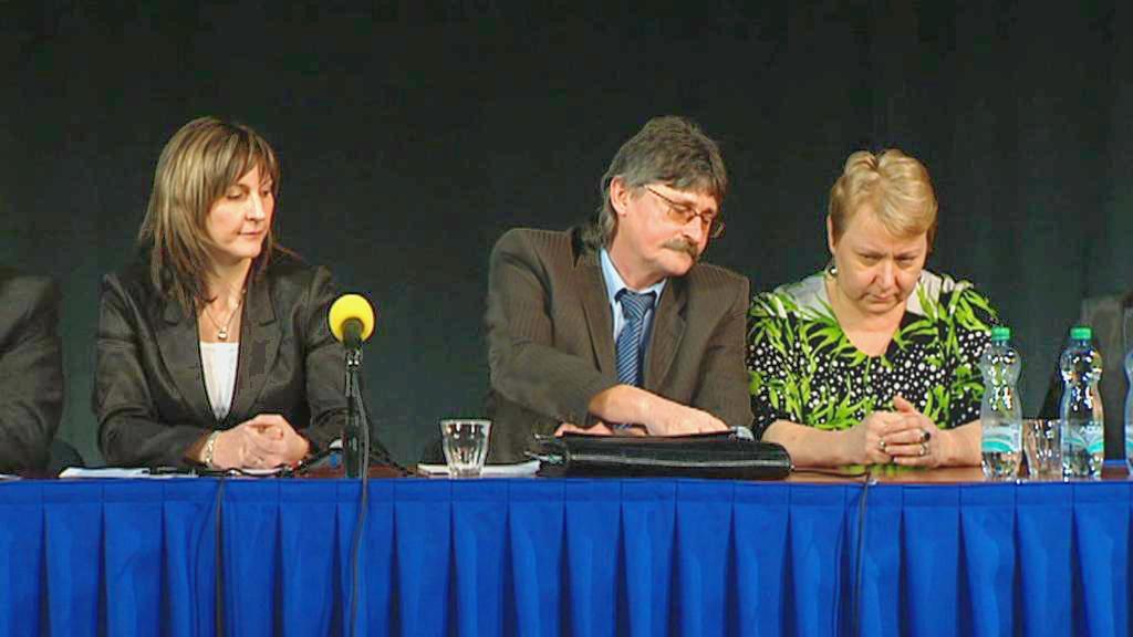 Ivana Řápková, Pavel Louda a Liana Janáčková