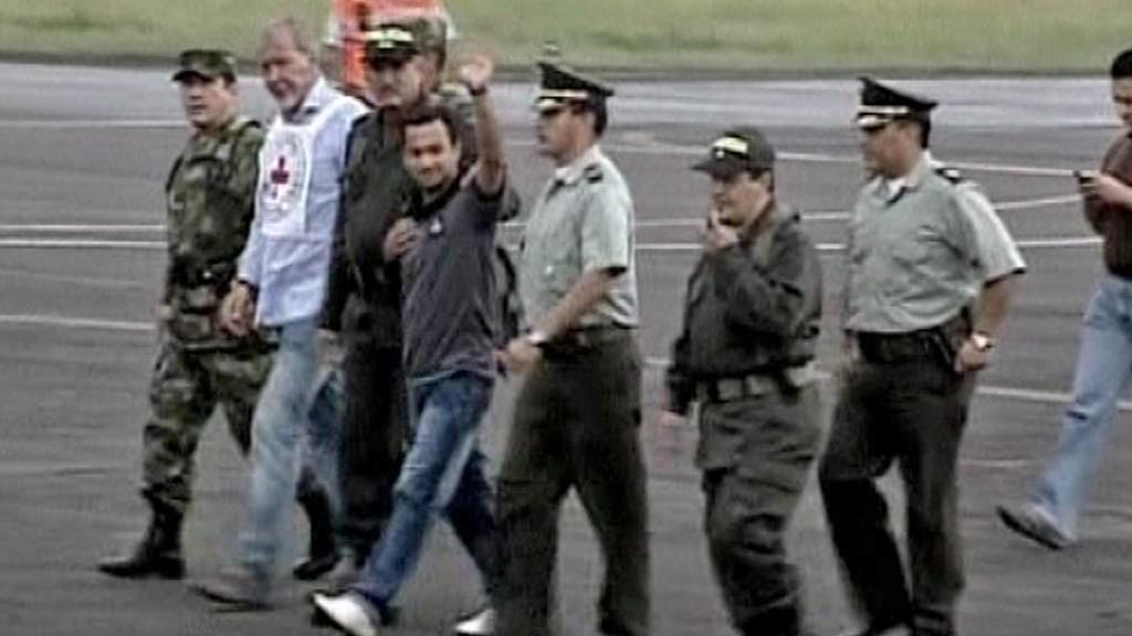 Propuštění rukojmího Carlose Alberta Ocampa