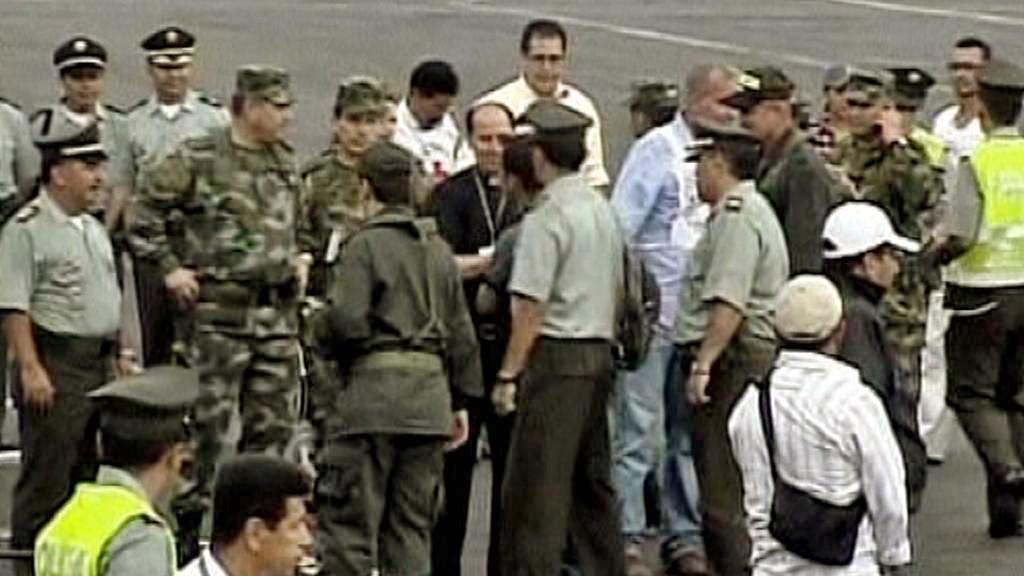 Propuštění rukojmích v Kolumbii