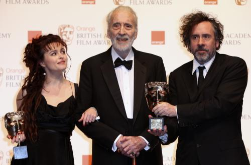 Helena Bonhamová Carterová, Christopher Lee a Tim Burton