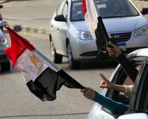 Egypt slaví Mubarakův pád