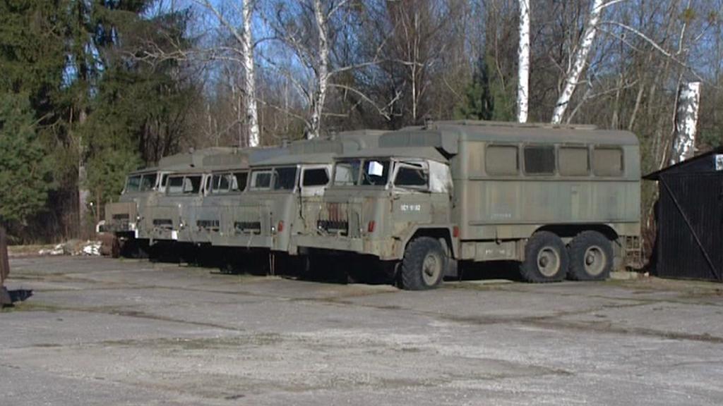 Vyřazený armádní majetek