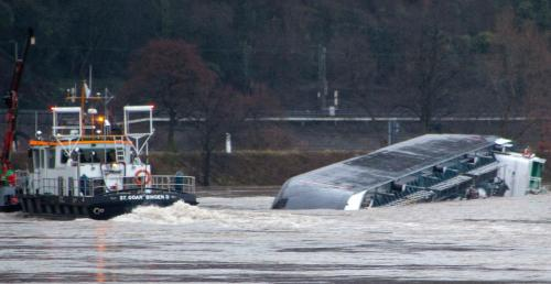 Potopený tanker s kyselinou