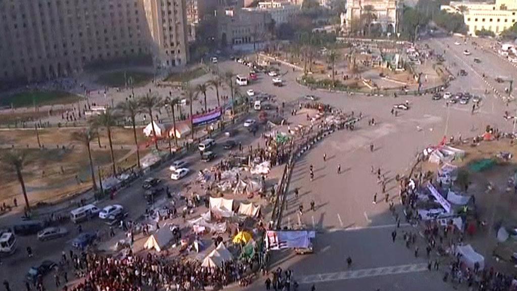Káhirské náměstí Tahrír