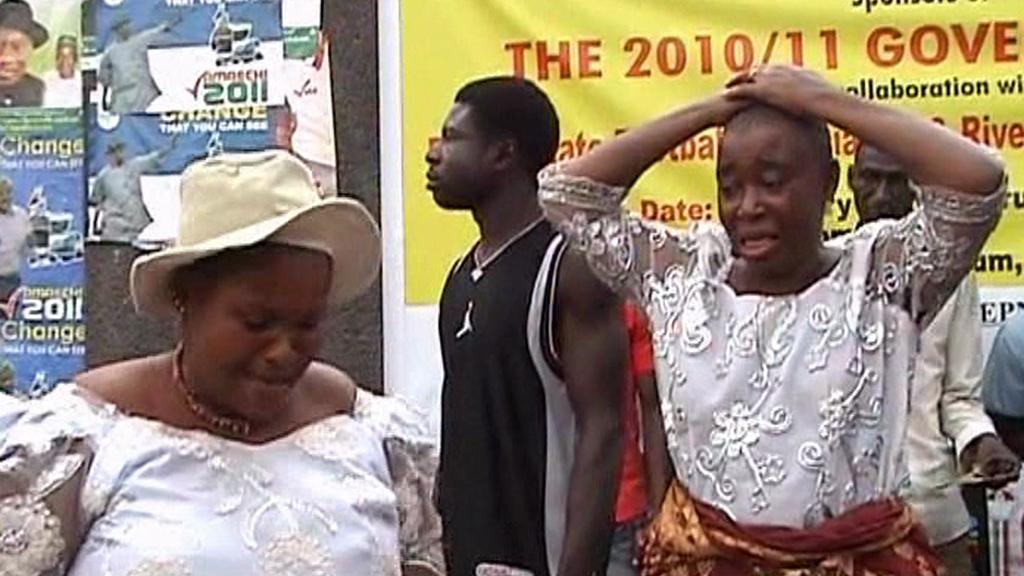 Nigerijská žena