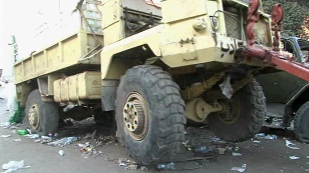 Úklid egyptských ulic