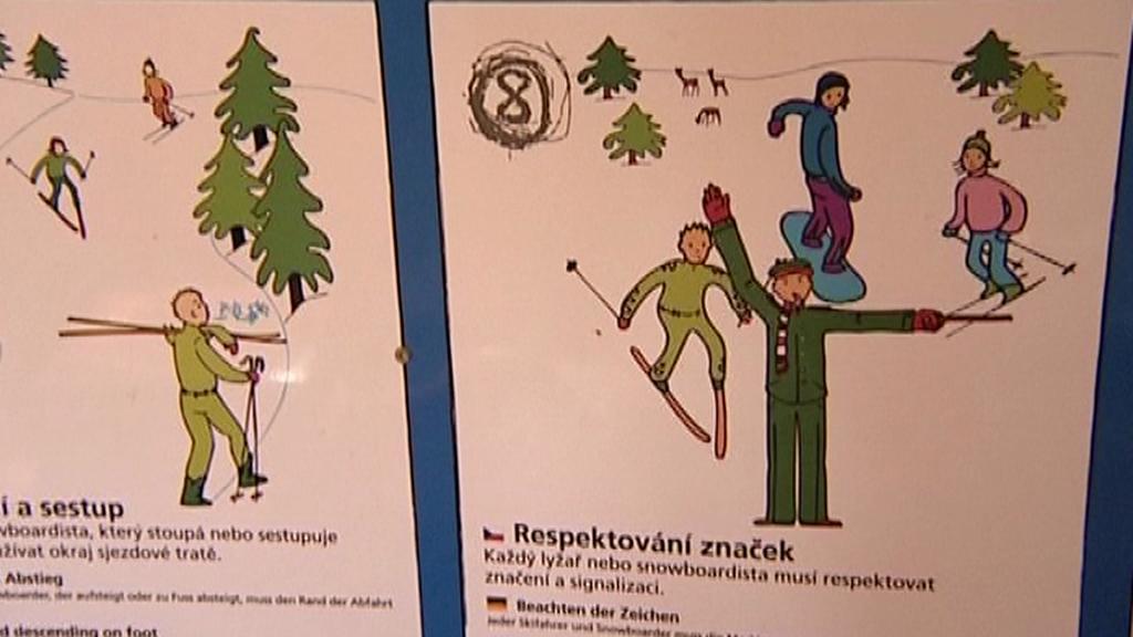 Pravidla při lyžování