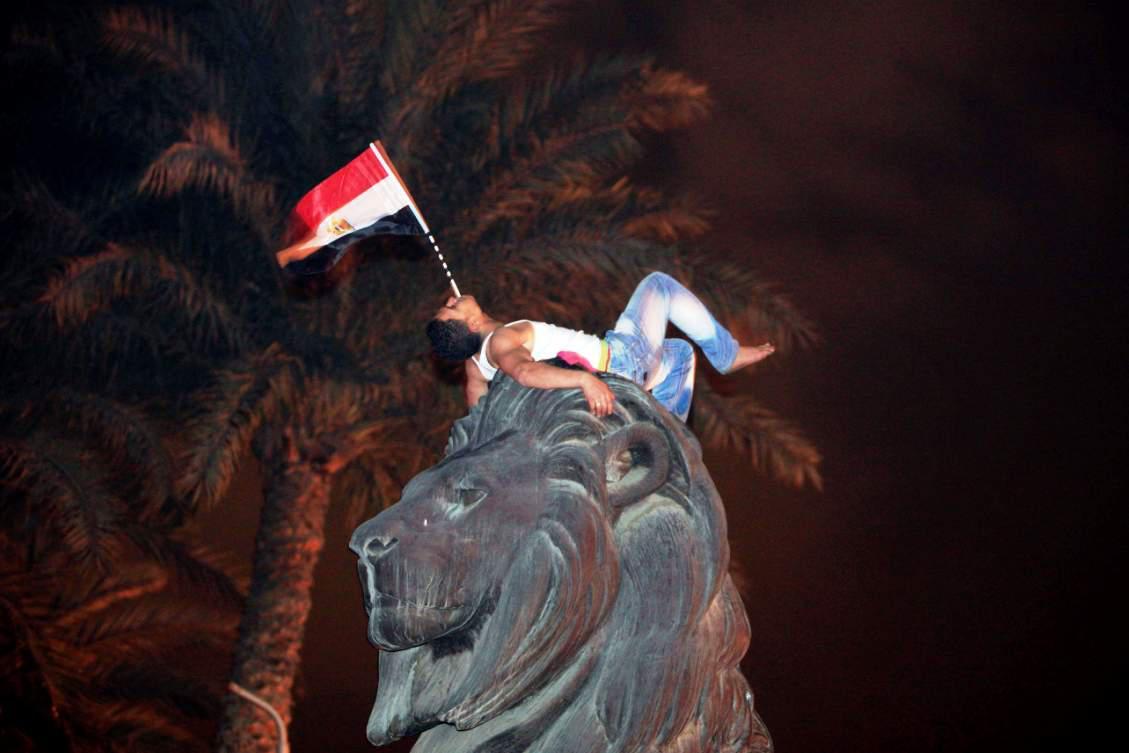 Káhira se raduje