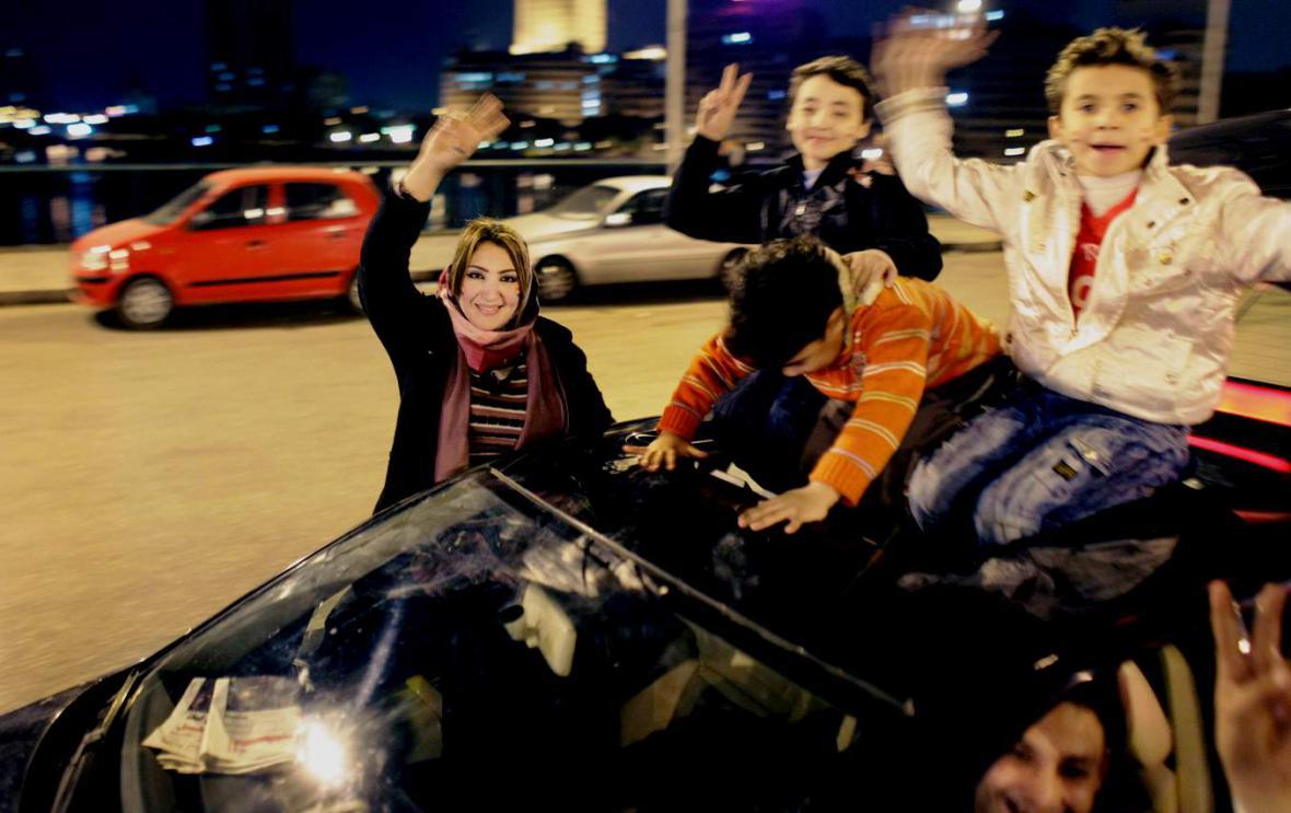 Egypt oslavuje