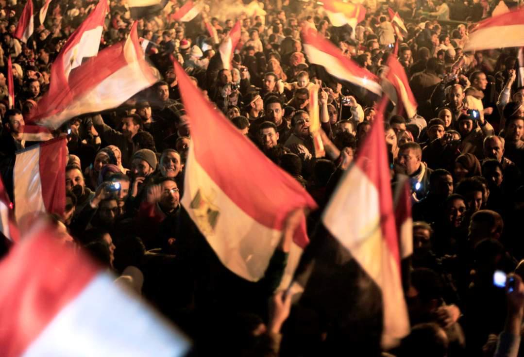 Tisíce lidí slavily v ulicích