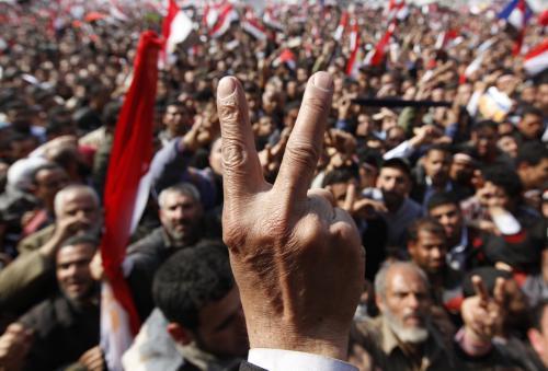 Vyhráli jsme! volá egyptská ulice