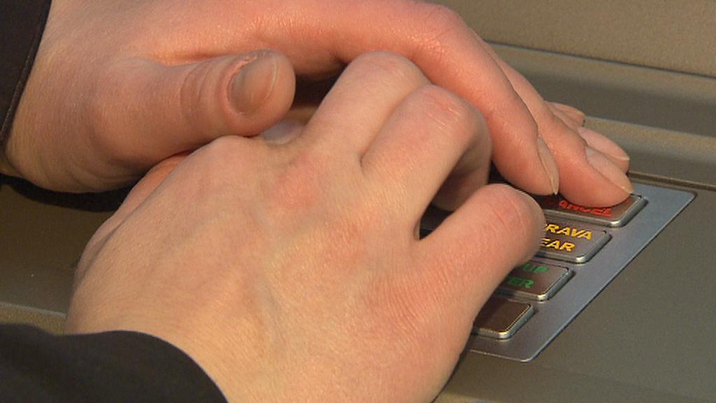 Zadávání PIN kódu