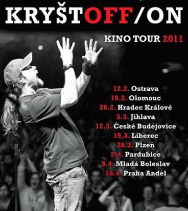 Turné kapely Kryštof