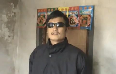 Slepý čínský disident Čchen Kuang-čcheng