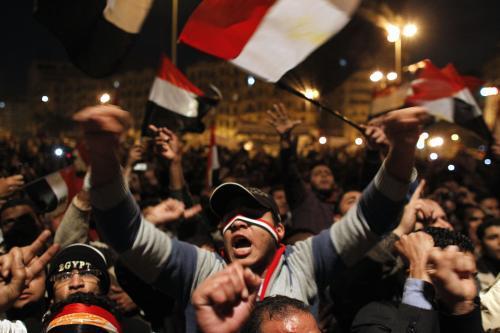 Egyptští demonstranti očekávají odchod Mubaraka