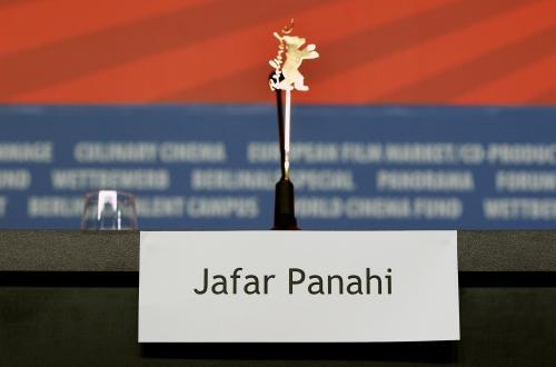 Prázdné místo pro Jafara Panahiho
