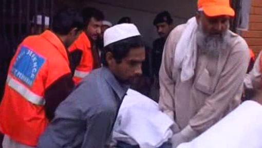 Sebevražedný útok v Pákistánu