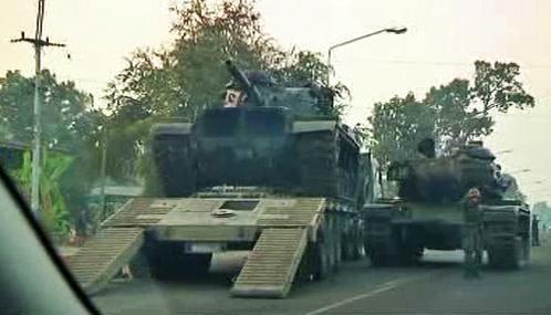 Thajsko poslalo ke kambodžské hranici tanky