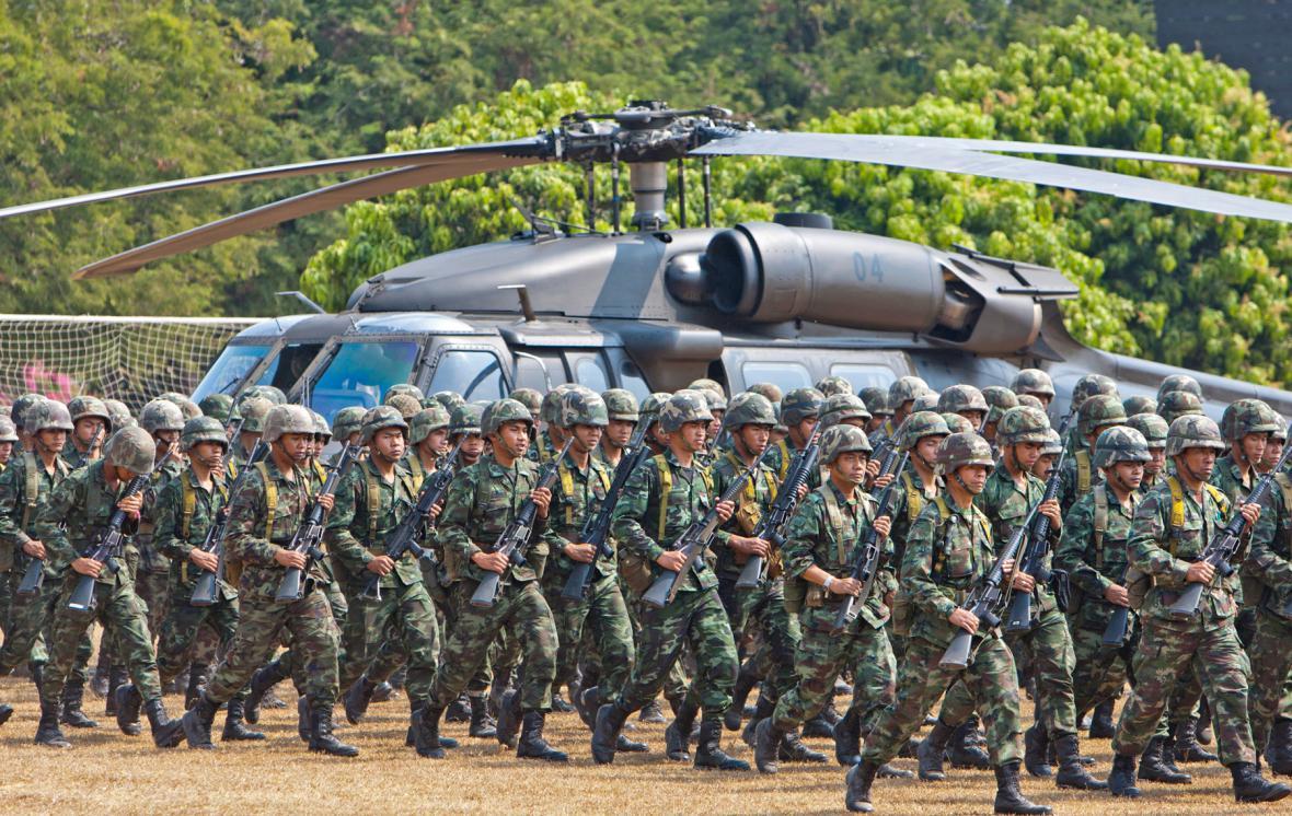Thajské jednotky míří k chrámu Preah Vihear