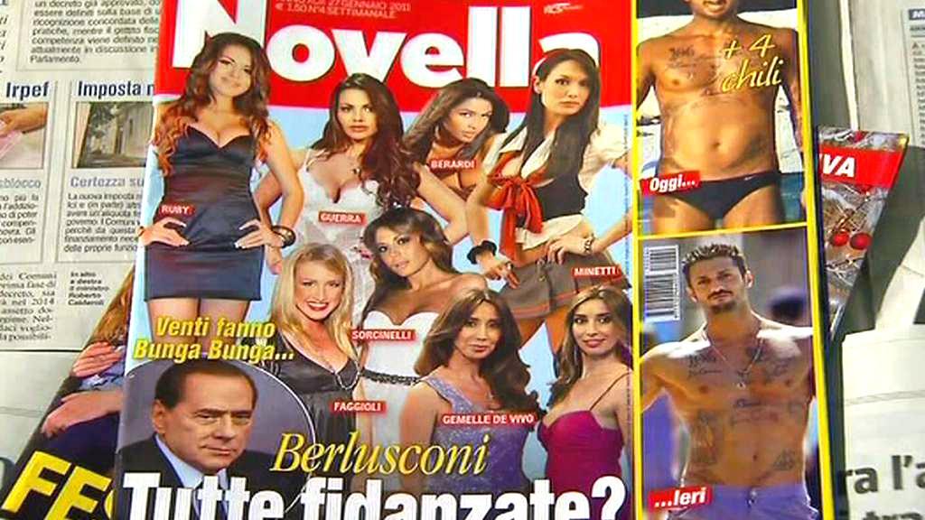 Italský tisk o Berlusconiho skandálech