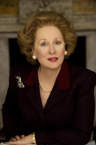 Meryl Streepová jako Margaret Thatcherová