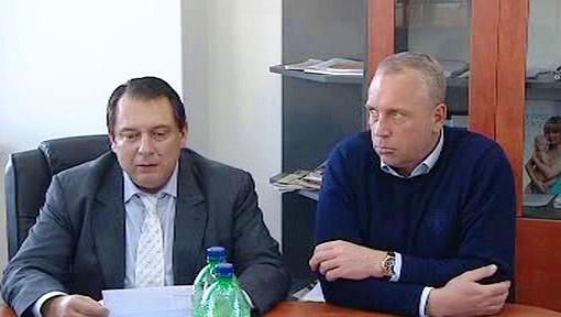 Jiří Paroubek a Petr Benda