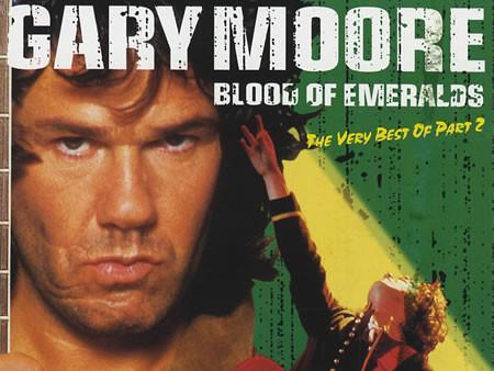 Gary Moore / detail přebalu CD